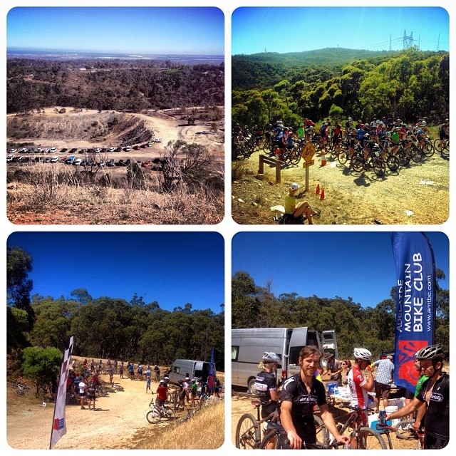 Awesome turnout and great racing today for AMBC's Summer Series Round 1 at Eagle Park. So good to see some new faces and a few guns from the past sharing a fun and tough course. Bring on the MTBA National Series Round next weekend! #AMBC
