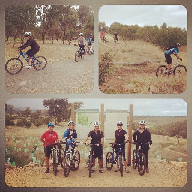 Great day out on the trails for the first ever AMBC / MTBSkills.com.au skills training express session. Watch out for a few new riders pinning it at the next race! #adelaidemtbclub #mtbskills